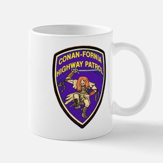 Conan-Fornia Highway Patrol Mug