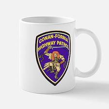 Conan-Fornia Highway Patrol Small Small Mug