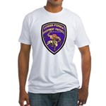 Conan-Fornia Highway Patrol Fitted T-Shirt