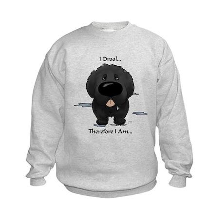 Newfie I Drool Kids Sweatshirt