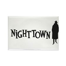 Nighttown Rectangle Magnet Magnets