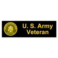 Army Veteran Bumper Bumper Sticker