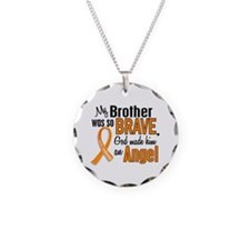 Brother Leukemia Shirts and Apparel Necklace