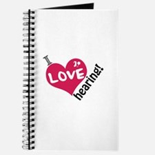 I love hearing! Journal