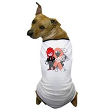 Endometrial CANCER SUCKS Dog T-Shirt
