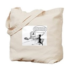Cats on the Web Tote Bag
