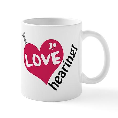 I love hearing! Mug