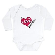 I love hearing! Long Sleeve Infant Bodysuit