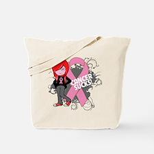 Breast CANCER SUCKS Tote Bag