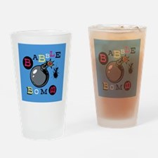 Babble Bomb Drinking Glass