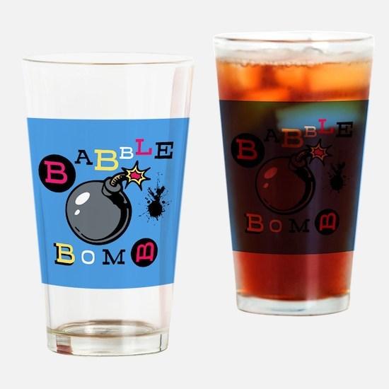 Babble Bomb Drinking Glass