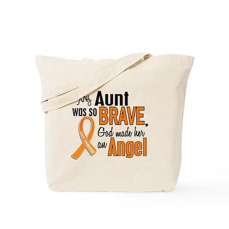 Aunt Leukemia Shirts and Apparel Tote Bag