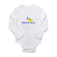 Unique Cute duck Long Sleeve Infant Bodysuit