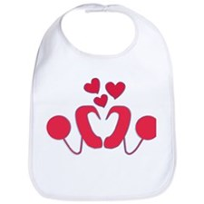 Cochlear Implant Love Bib