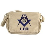 Masonic Leo Sign Messenger Bag