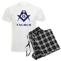 Masonic Taurus Sign Pajamas
