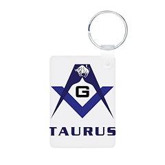 Masonic Taurus Sign Keychains