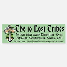 10 Lost Tribes Bumper Bumper Sticker