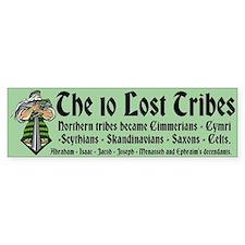 10 Lost Tribes Bumper Sticker