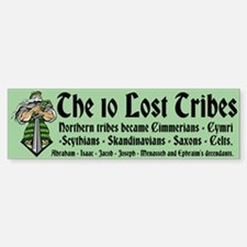 10 Lost Tribes Sticker (Bumper)