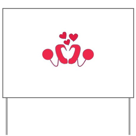 Cochlear Implant Love Yard Sign
