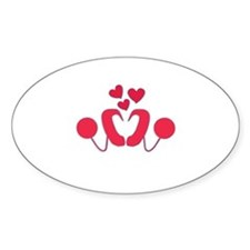 Cochlear Implant Love Decal