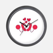 Cochlear Implant Love Wall Clock