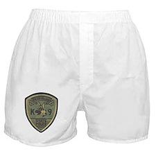 RI State Police K9 Boxer Shorts