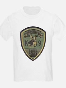 RI State Police K9 Kids T-Shirt