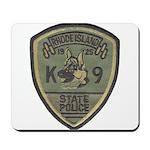 RI State Police K9 Mousepad