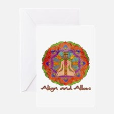 Align and Allow Greeting Card