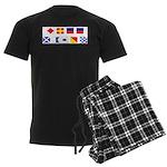 Freemasons who enjoy boating Men's Dark Pajamas