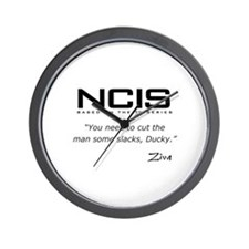 NCIS Ziva David Slacks Quote Wall Clock