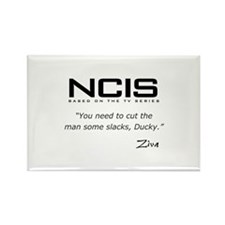 NCIS Ziva David Slacks Quote Rectangle Magnet