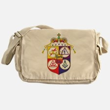Cute Freemasons Messenger Bag