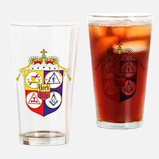 Cute Knights Drinking Glass