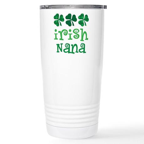 Irish Nana St Patrick's Day Stainless Steel Travel