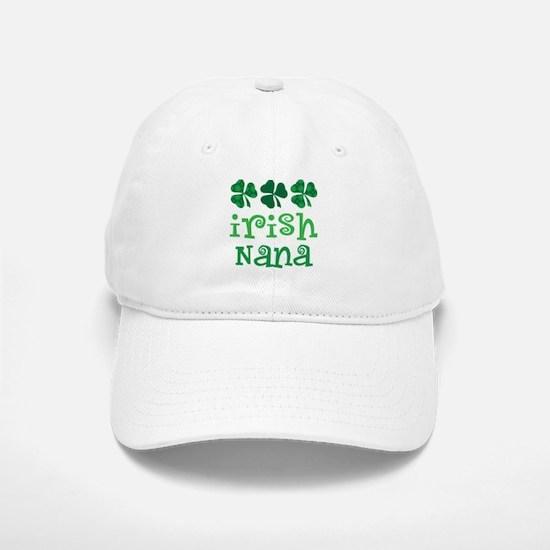 Irish Nana St Patrick's Day Baseball Baseball Cap