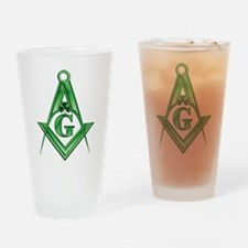 Masonic Shamrock with the S&C Drinking Glass