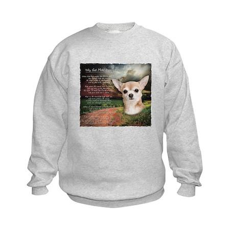 """Why God Made Dogs"" Chihuahua Kids Sweatshirt"