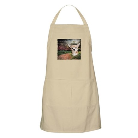 """""""Why God Made Dogs"""" Chihuahua Apron"""