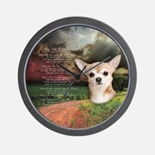 """Why God Made Dogs"" Chihuahua Wall Clock"