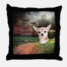 """""""Why God Made Dogs"""" Chihuahua Throw Pillow"""