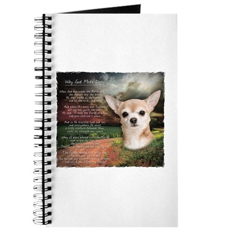"""""""Why God Made Dogs"""" Chihuahua Journal"""