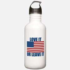 Love it or Leave it Sports Water Bottle