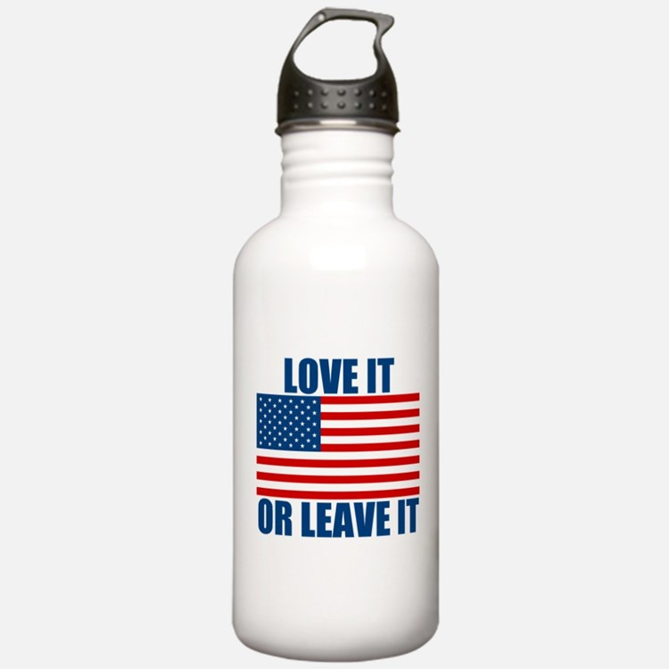 Love it or Leave it Water Bottle