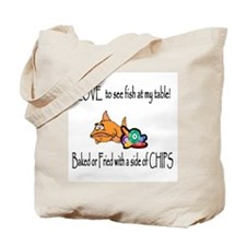 Baked or Fried Tote Bag