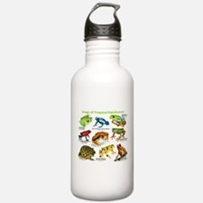 Frogs of the Tropical Rainforests Water Bottle