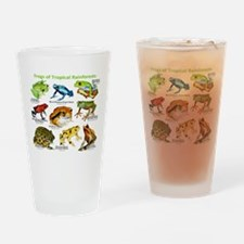 Frogs of the Tropical Rainforests Drinking Glass