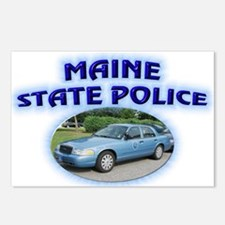 Maine State Police Postcards (Package of 8)